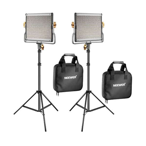 Softbox lights with stand