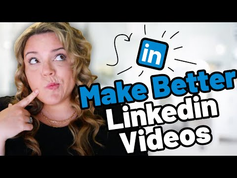 Make Better Linkedin Videos // 5x Your Engagement With These Tips!