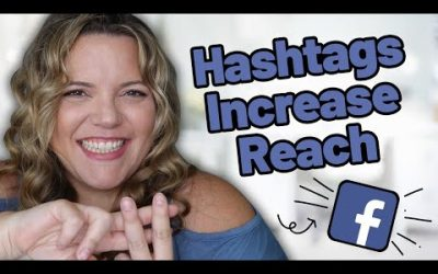 Why You Should Use Hashtags On Facebook // Increase Your Organic Reach on Facebook With Hashtags