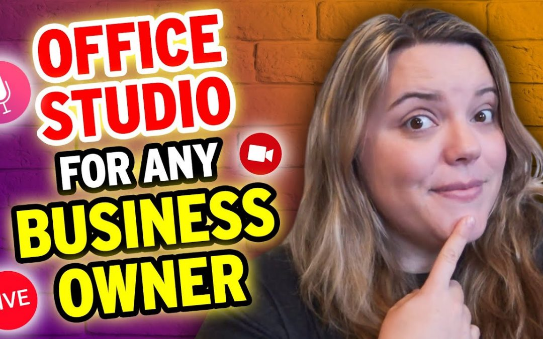 Basic Live Streaming Studio for ANY Business Owner [DIY & Gear]
