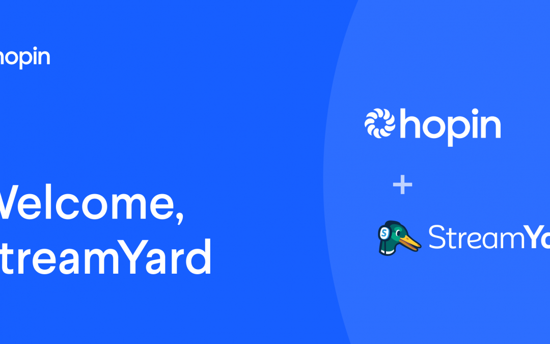 How to Use Hopin! Streamyard & Hopin